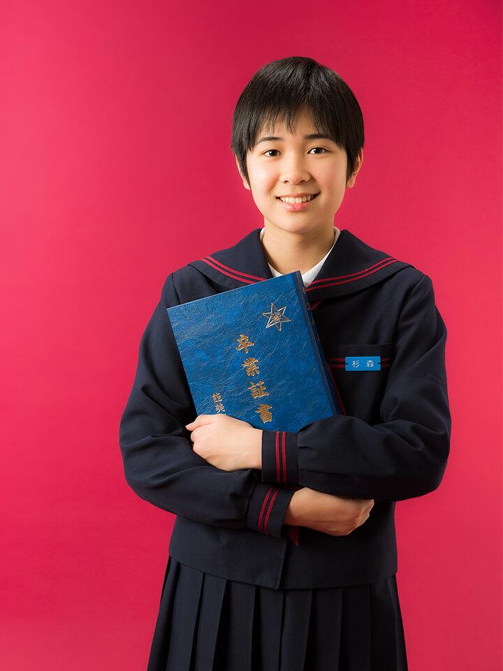 入学・卒業記念写真
