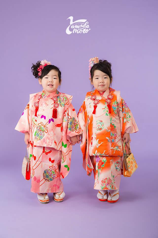 ヤマダフォト-双子chanの七五三 -
