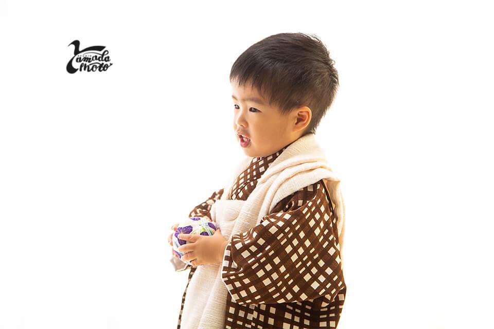 ヤマダフォト-たいしんkunの七五三 -